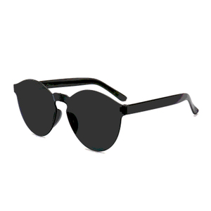 69072eca38 ASH06 Various Optional Frameless Sunglasses Fashionable Glasses Clear Oval  Round Shield Shape CE FDA