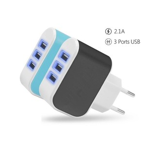 Wholesale qc 3.0 multi usb wall charger outlet for Portable Mobile Phone Chargers Travel Dual