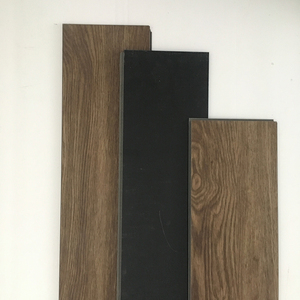 Eco-friendly click pvc floor tile like wood