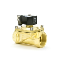 2 inch electric water air diaphragm Brass solenoid valve