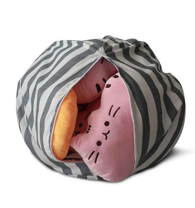 박제 동물 스토리지 콩 가방 커버