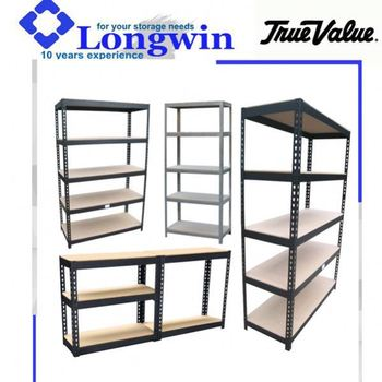 heavy duty 5 tier garage wall metal shelving for sale. Black Bedroom Furniture Sets. Home Design Ideas