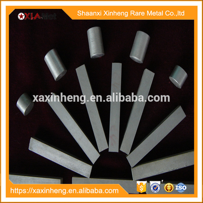 ASTM B777 99.95% tungsten square bar/rod for sale