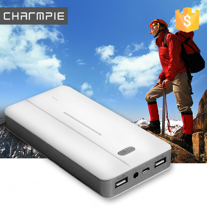 Low weight high capacity Outdoor 20000mah portable power bank for philips