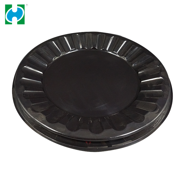 Customized Products  Disposable PS Plastic tray for food packing
