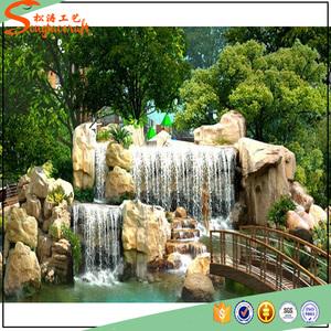 Factory Wholesale Artificial Leroy Merlin Decorative Garden Stones Fountain For Sale