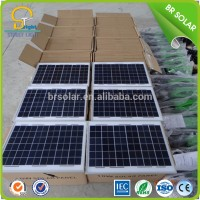 sensor integrated flexibility solar panel for bag
