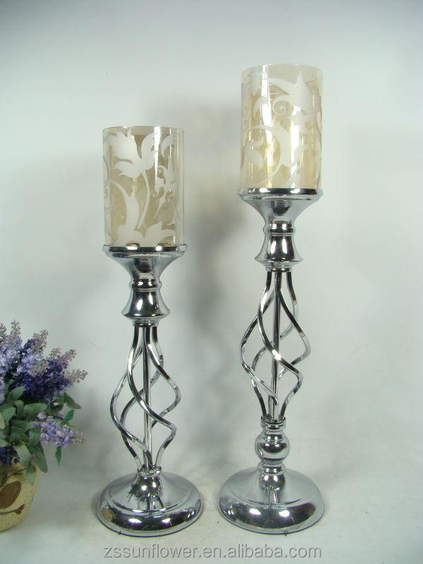tall glass pillar candle holders bulk candelabrum candle holders restaurant floor standing. Black Bedroom Furniture Sets. Home Design Ideas