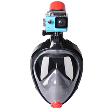 Customized New Design 180 Degree View Full Face Panoramic Scuba Snorkel Diving Mask