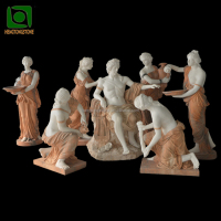 High Quality Large Marble Garden Sculpture of Apollo Bath Statue