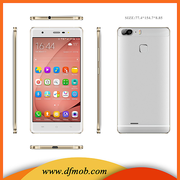 Best Selling 5.5 INCH HD IPS Screen Android 5.1 GPS Mtk6580A Quad Core 3G Online Shopping Mobile Phone S12