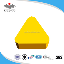 ZCCCT Zhuzhou Cemented Carbide Cutting Tools TPKN milling inserts