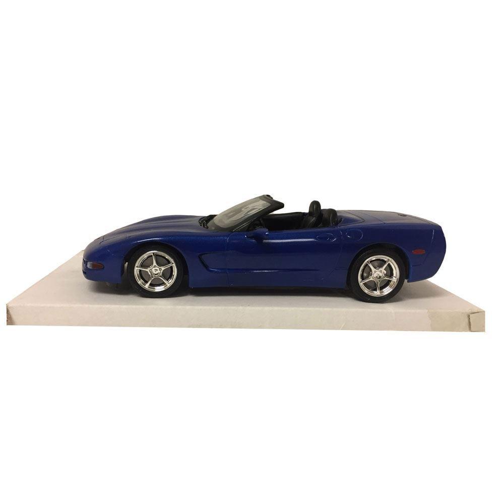 Revell 2002 Corvette Convertible Electron Blue #0937 Promo Cars Model 1:25 Scale Plastic Car Replica