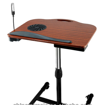 Adjule Rolling Laptop Table New