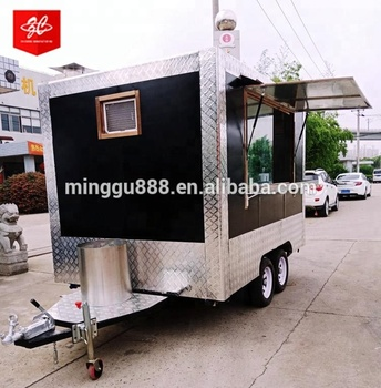 New Designed Multifunctional Street Food Van