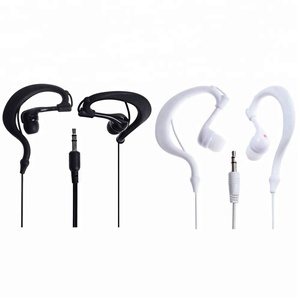 New 3.5mm Waterproof Headsets Headphones in ear sport headphones Swimming Sport ear phone earphone headset for MP3 MP4 PC