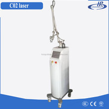 Glass tube 40W skin renewing vaginal tightening therapy fractional CO2 laser machine