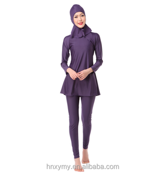 2017 HOT Selling Sexy Muslim Girls' Islamic Swimwear Muslim Swimsuit