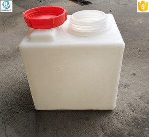 High quality PE plastic 40L chemical dosing square water tank for export