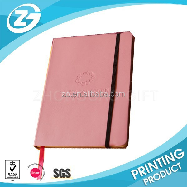 pu cover diary notebooks Lined Italian Leather Journals and Diaries