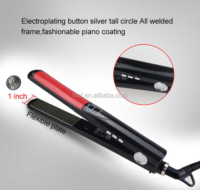 factory wholesale price private label ceramic flat iron hair straightener