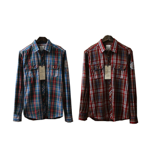 readymade garments 65% cotton casual men long sleeve plaids shirt