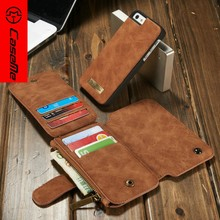 For iPhone 5s Case,CaseMe Leather Wallet Case for Apple iPhone 5s 2016 best selling Cover with Credit Card ID Holder for iphone5