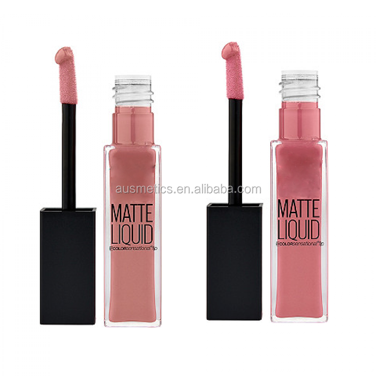 Wholesale price fashion color kissproof organic lipstick matte private label