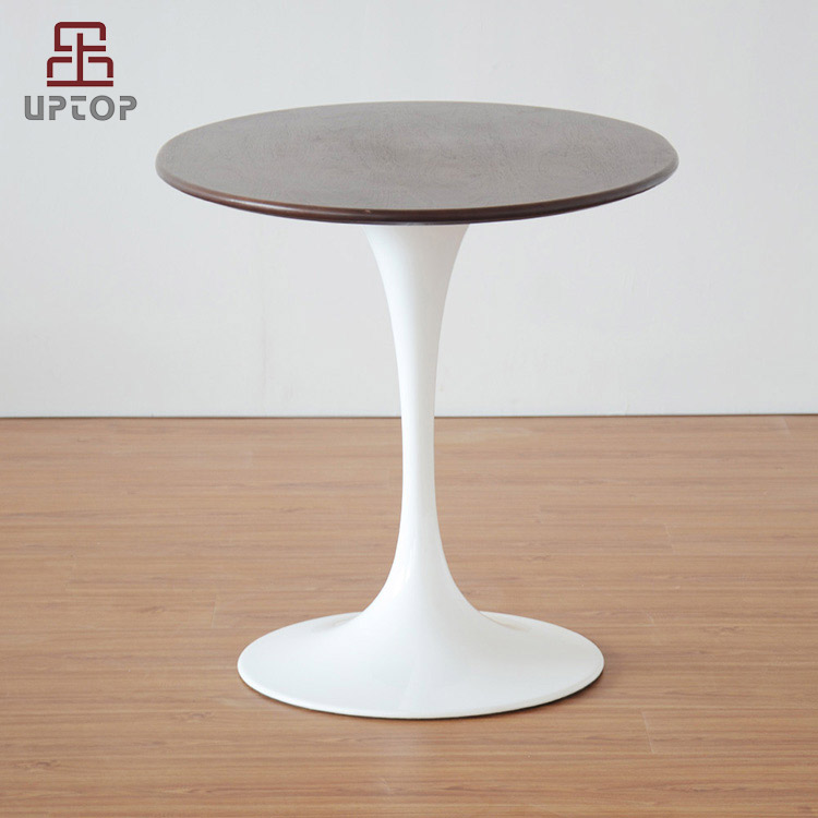 Café muebles réplica Eero Saarinen mármol artificial tulipán mesa ...