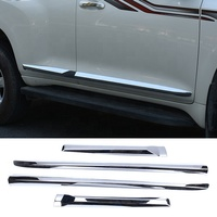 Chrome Side Door Molding Trim For Toyota Prado 2010-2018