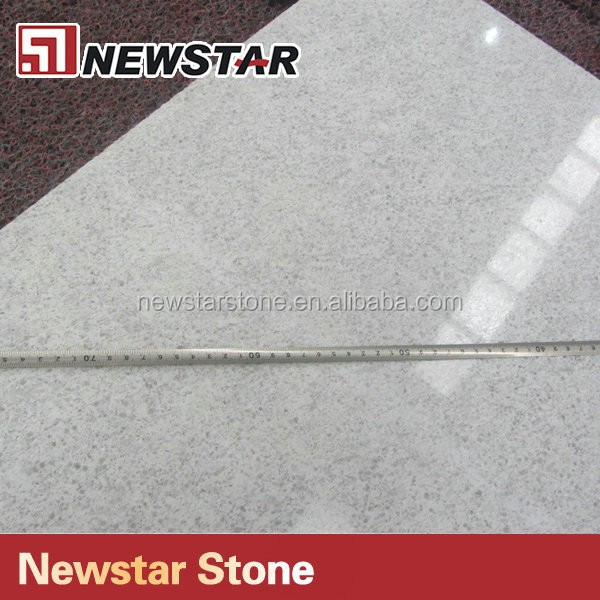 Chinese polished white oyster pearl granite