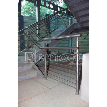 Stainless Steel Wire Rope Railing For Stairs Buy Wire Rope Railing Stainless Steel Pipe Stair Railing Stainless Steel Wire Railing Product On