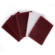 70*100mm Flocking Scouring Pad 240-1500 Grit Industrial Heavy Duty Nylon Cloth for Polishing & Grinding