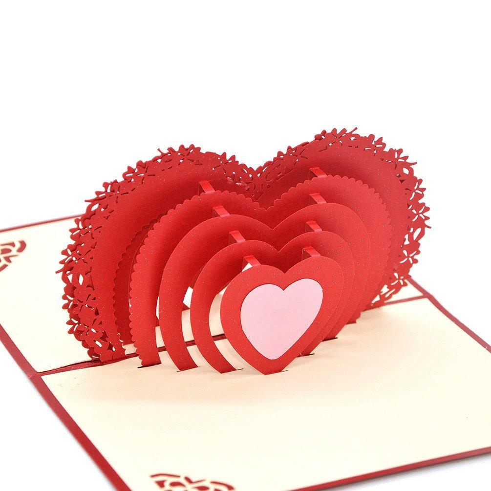Cheap 3d Heart Pop Up Card Find 3d Heart Pop Up Card Deals On Line