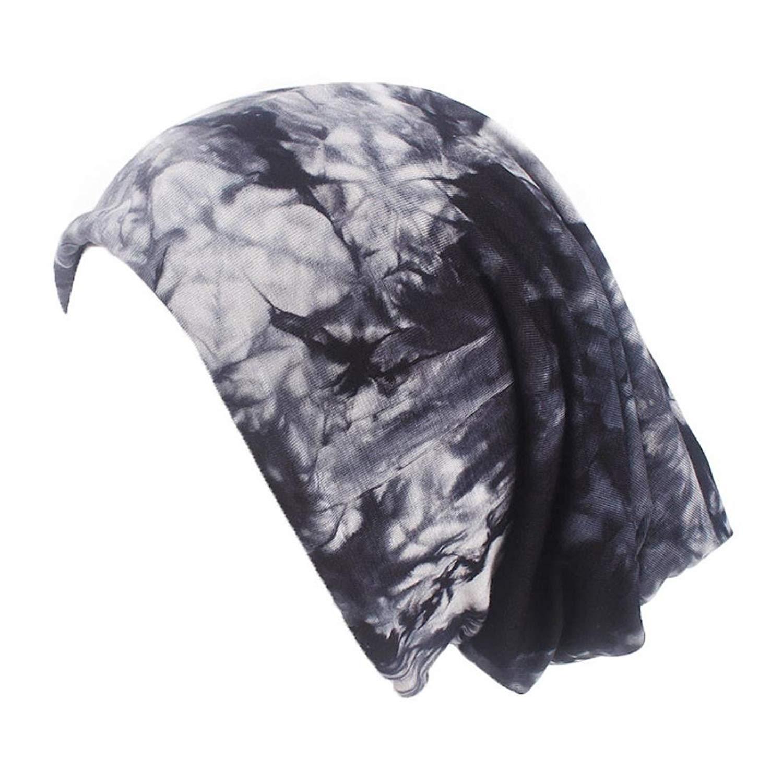 Cywulin Womens Cotton Chemo Hat Long Hair Turban Head Wraps Headwear Pre Tied Head Scarf Scarves for Womens