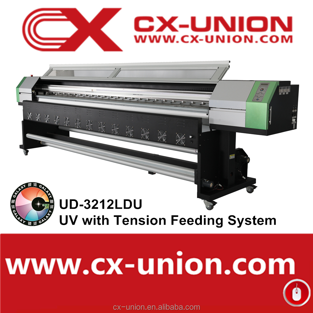 cheaper price!!! digital inkjet printer roll to roll UV printing machine for sale