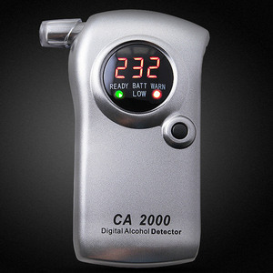 CA2000 Breathalyzer Digital Personal Professional Alcohol Detector Blowing Wine Tester