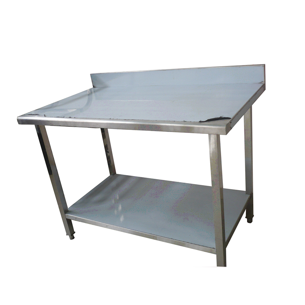 Stainless Steel Assembly Type Sliding Door Worktable for Restaurant