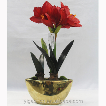 Alibaba & Wedding Centerpieces 3d Printing Fabric Artificial Lily Flowers With Tin Pot - Buy 3d Printing FabricArtificial Lily FlowersWedding Centerpieces ...