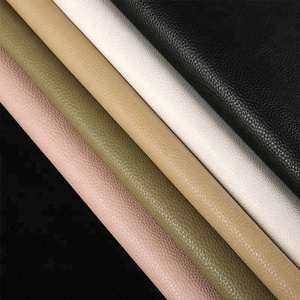 Tengyao PVC Synthetic Leather 1.8mm Thickness Lychee Grain leather for Women Bag Handbag shoes leather material TY7008