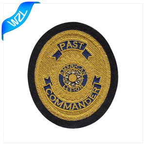 Personalized iron on embroidery aviation patch scout badges