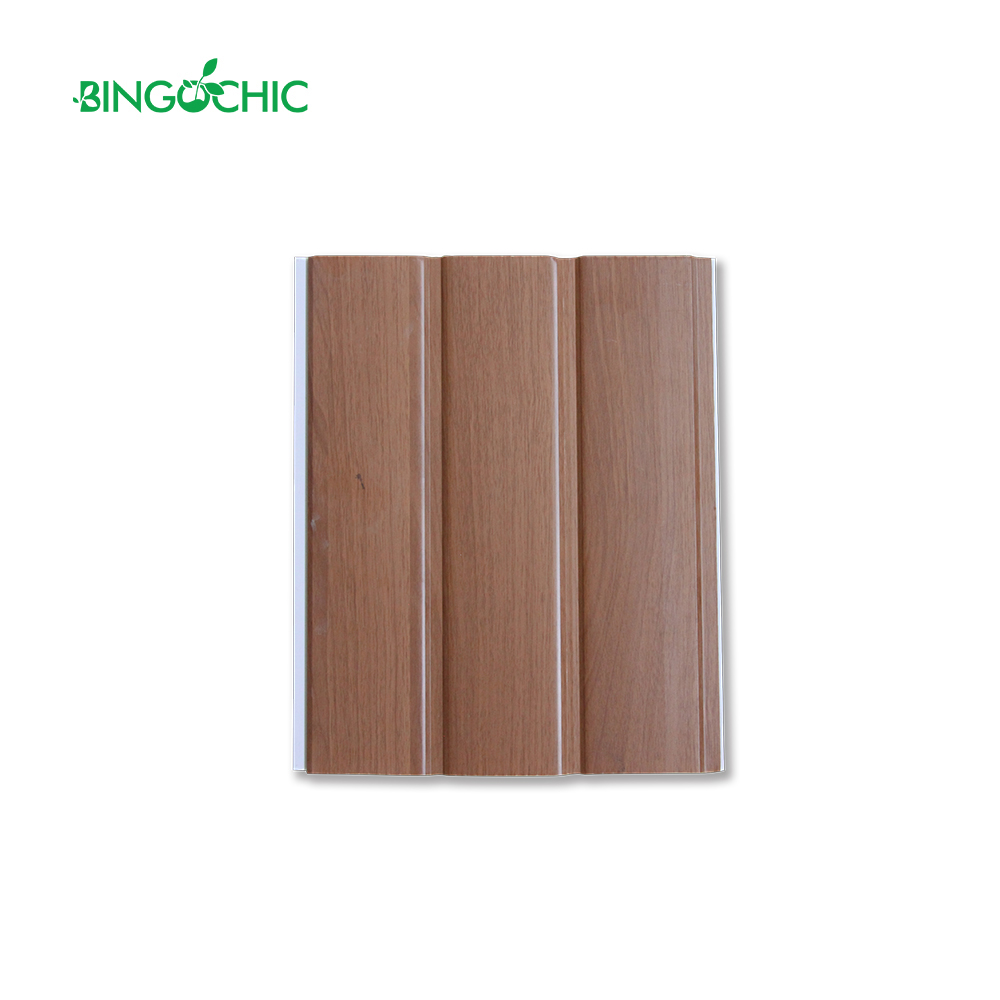 good quality wooden design pvc ceiling panel