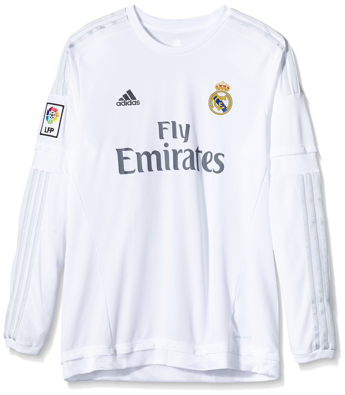 save off 34d66 64676 Buy Real Madrid Long Sleeve Home Jersey 2015 - 2016 in Cheap ...