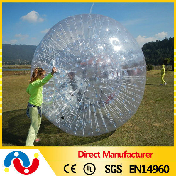 2015 High Quality Outdoor Inflatable PVC/TPU zorb ball water walking ball inflatable water roller good price