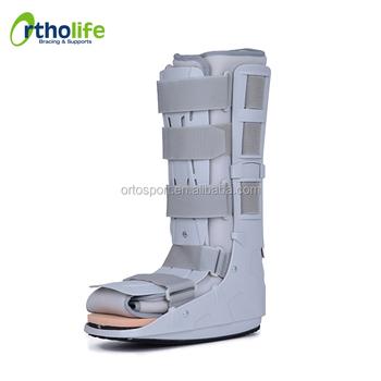 High Orthopedic Leg Fracture Walking Boot For Broken Ankle - Buy High Leg  Walking Boot,Boot For Fracture Ankle,Orthopedic Boot For Broken Ankle