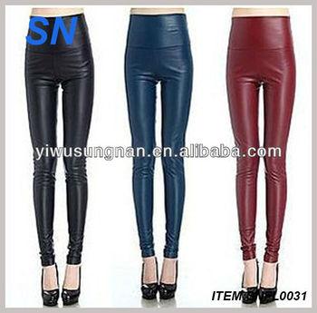 4b0fb24264ec35 Wholesale Cheap Black Hot Girls Sexy Leather Leggings - Buy Sexy ...