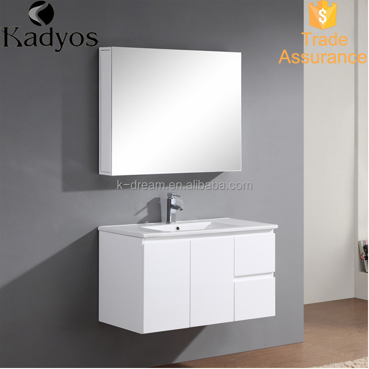 High quality bathroom cabinet/ vanity/ wc toilet wash basin KD-BC001M-90A