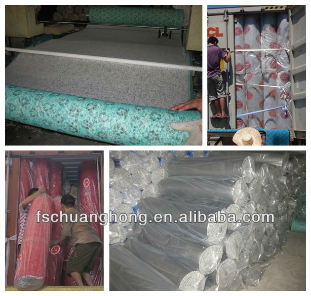 cheap exercise rebound foam for filling mattress