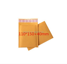 customized gold padded jiffy bag kraft paper bubble mailers wholesale envelops free shipping