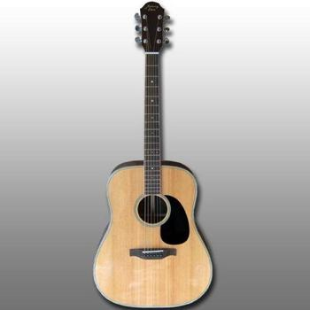 Johnny Eleca Dreadnought-Akustikgitarre in voller Größe JD-1 SR